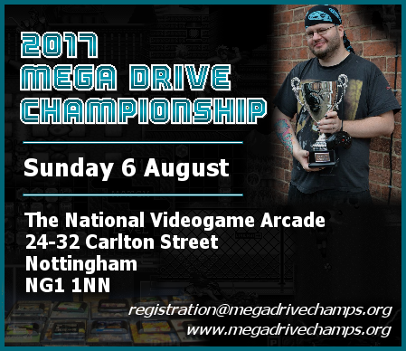 Details about the 2017 Mega Drive Championship